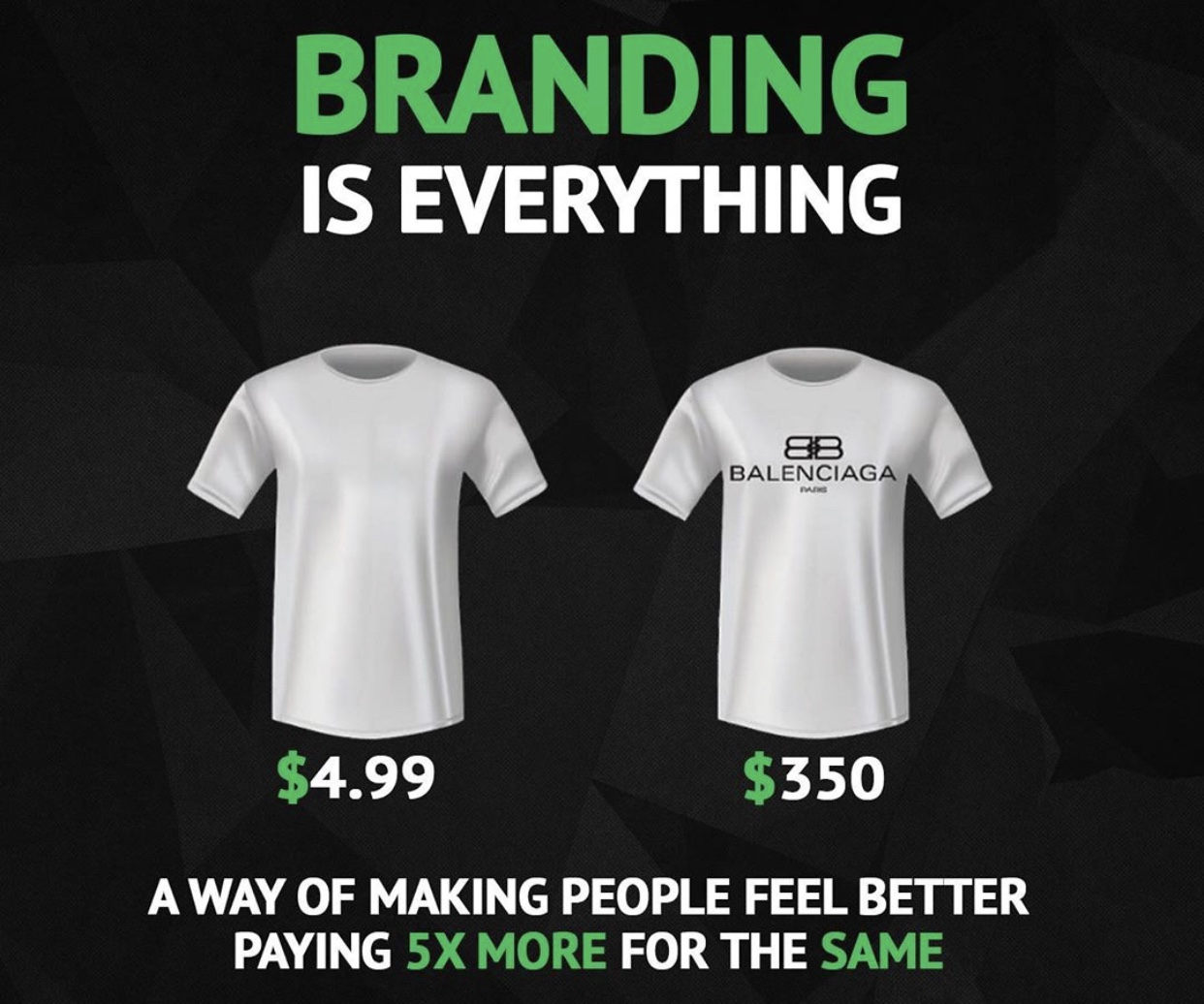 The sheer importance of branding