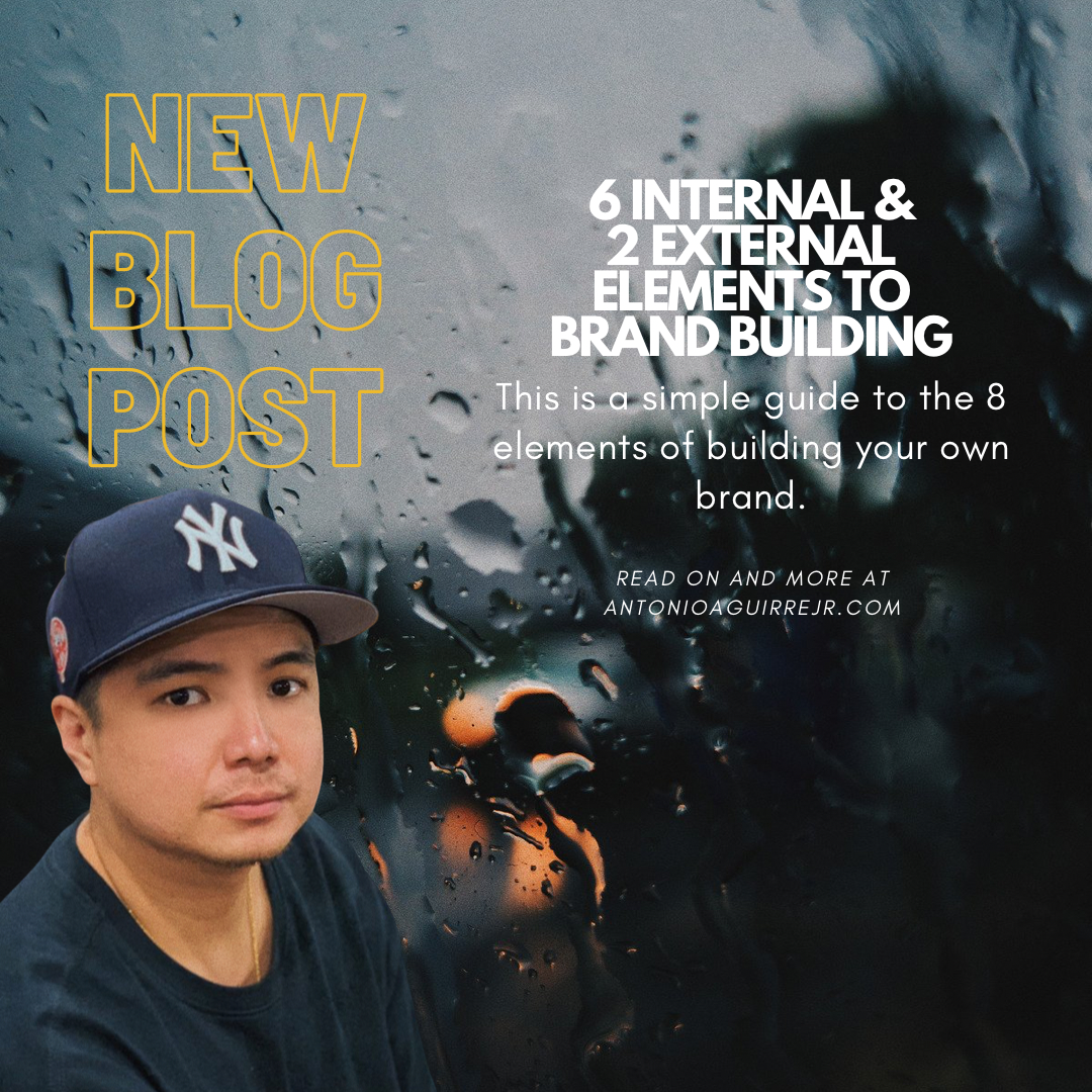 6 INTERNAL & 2 EXTERNAL ELEMENTS TO BRAND BUILDING