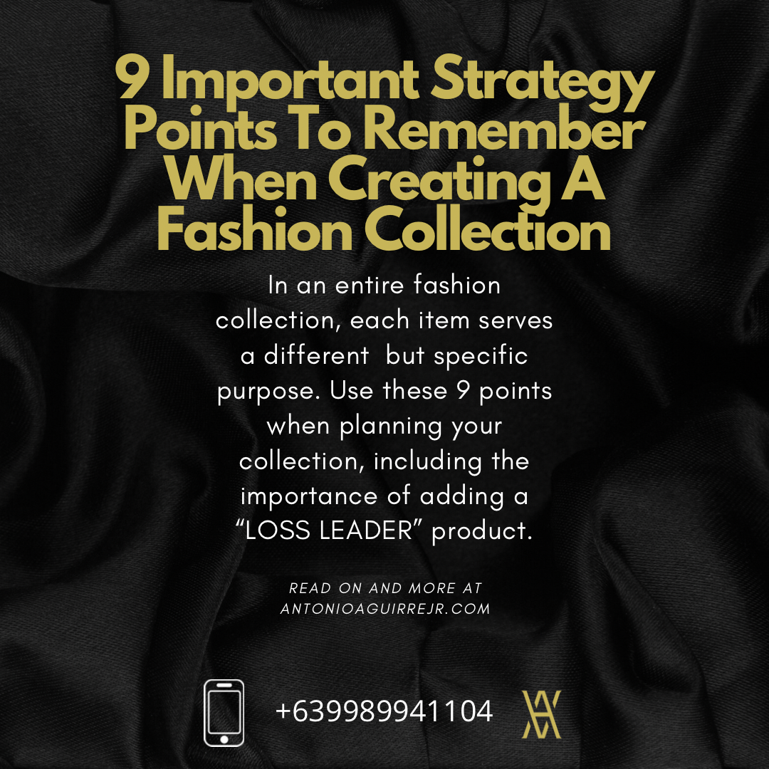 STRATEGIC FASHION COLLECTION PLANNING