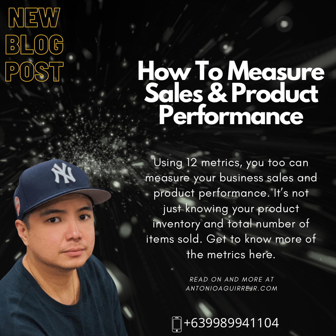 HOW CAN YOU MEASURE YOUR SALES & PRODUCT PERFORMANCE