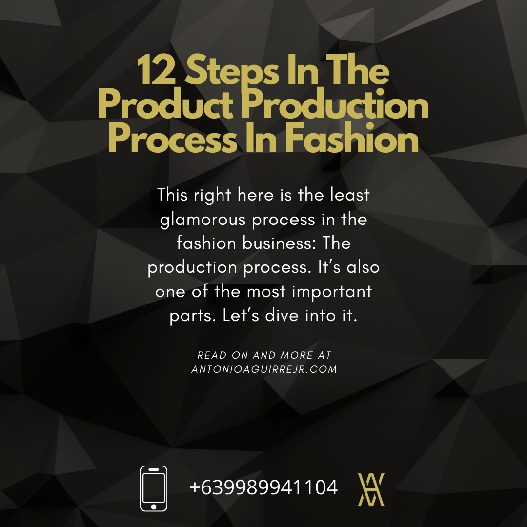 THE 12 STEPS IN THE UNGLAMOROUS PRODUCTION PROCESS