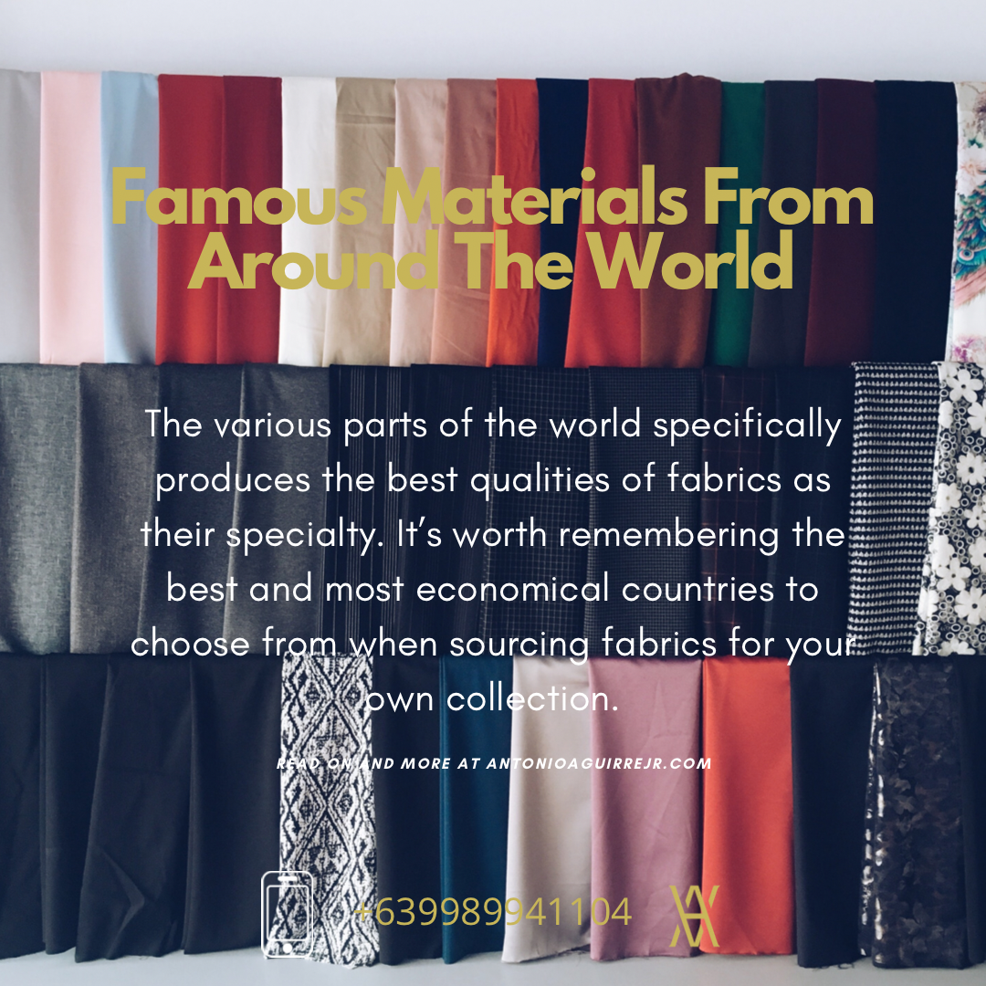 FABRICS FROM ALL AROUND THE WORLD