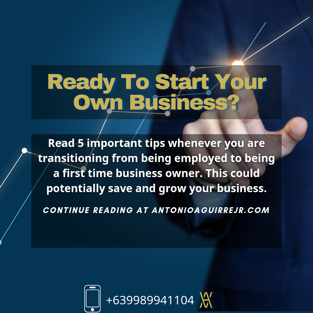 READY TO START YOUR OWN BUSINESS?