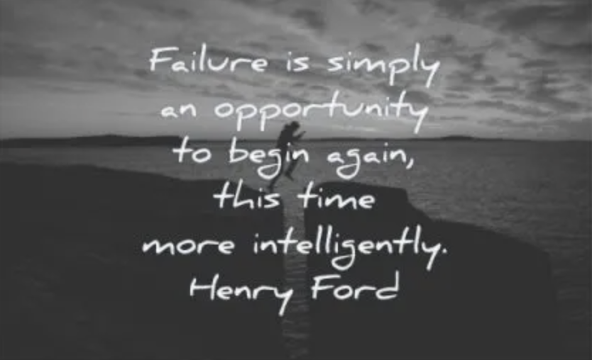 THE POWER THAT FAILING GIVES